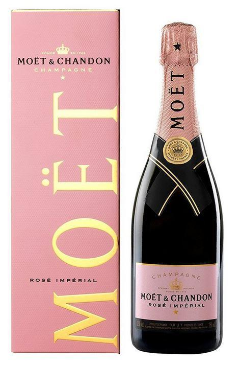Moet Imperial Chandon Rose +Gb 75cl 12 % vol 41,25€