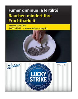Lucky Strike Blue 8*25 49,60€