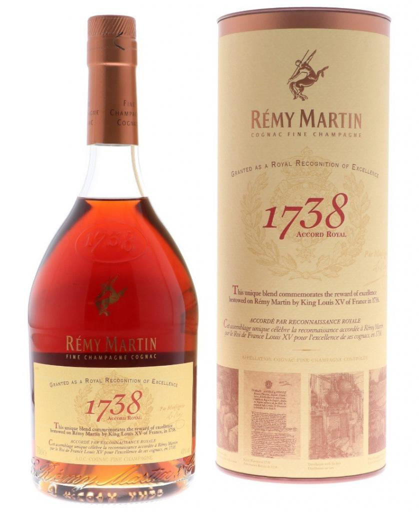 Remy Martin Royal 1738 70cl 40 % vol 49,95€
