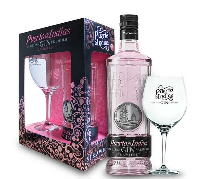 Puerto De Indias Strawberry + Verre + Gb 70cl 37.5 % vol 18,90€