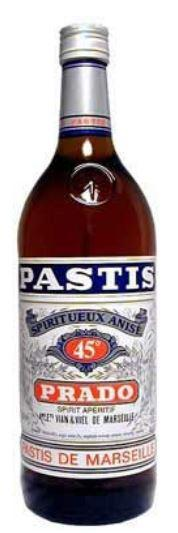 Pastis Prado 150cl 45 % vol 13,50€