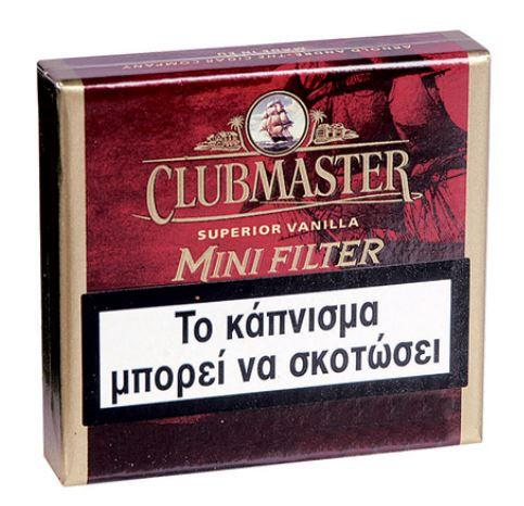 Clubmaster Superior Vanilla Mini Filter 20 5,20€
