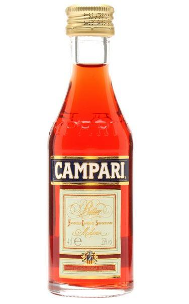Campari 4cl 25 % vol 1,90€