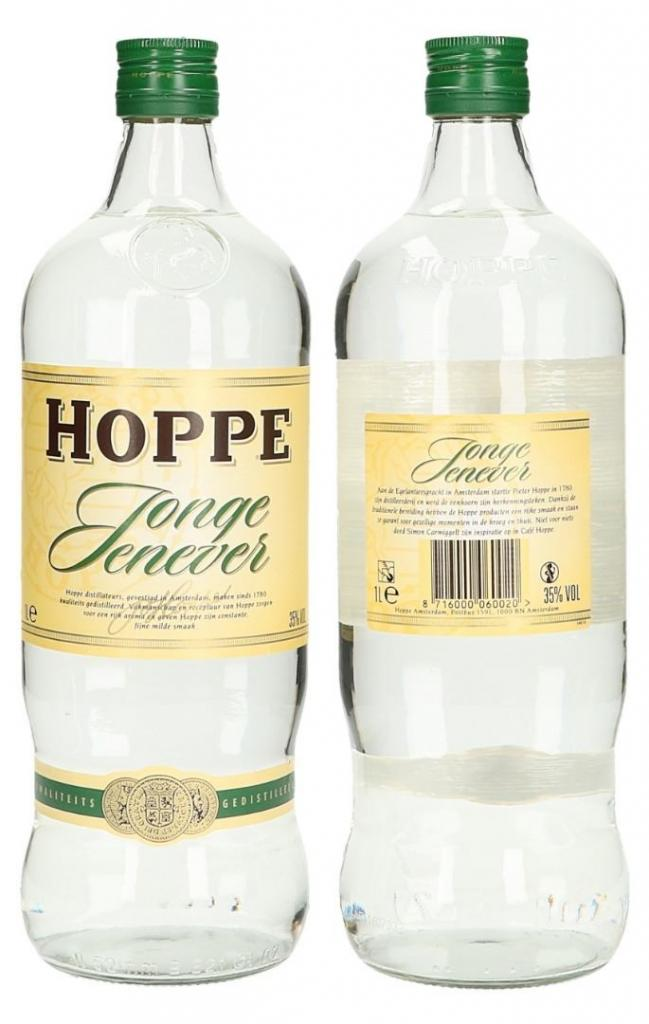 Hoppe Jonge Jenever 100cl 35 % vol 9,95€