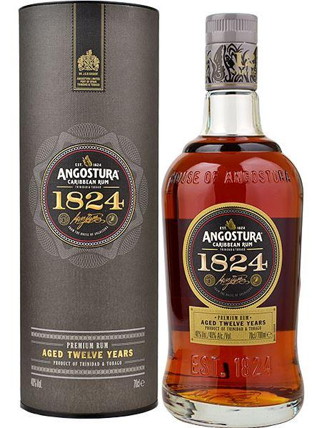 Angostura 1824 Premium Rum 12 Years 70cl 40 % vol 53,45€