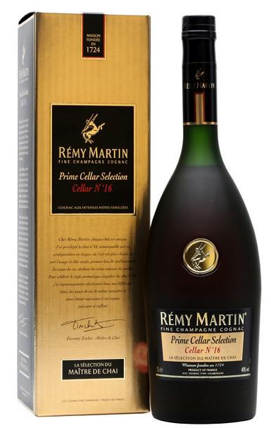 Remy Martin Prime Selection Cellar No. 16 100cl 40 % vol 48,50€