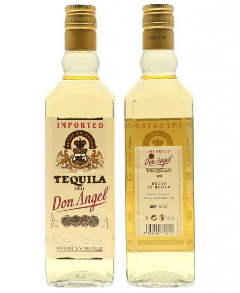 Don Angel Gold 70cl 38° 9,50€