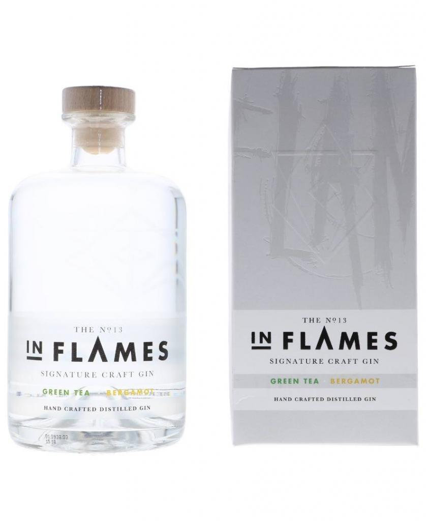 In Flames No. 13 Sign. Greentea Bergamot + Gb 70cl 40 % vol 34,50€