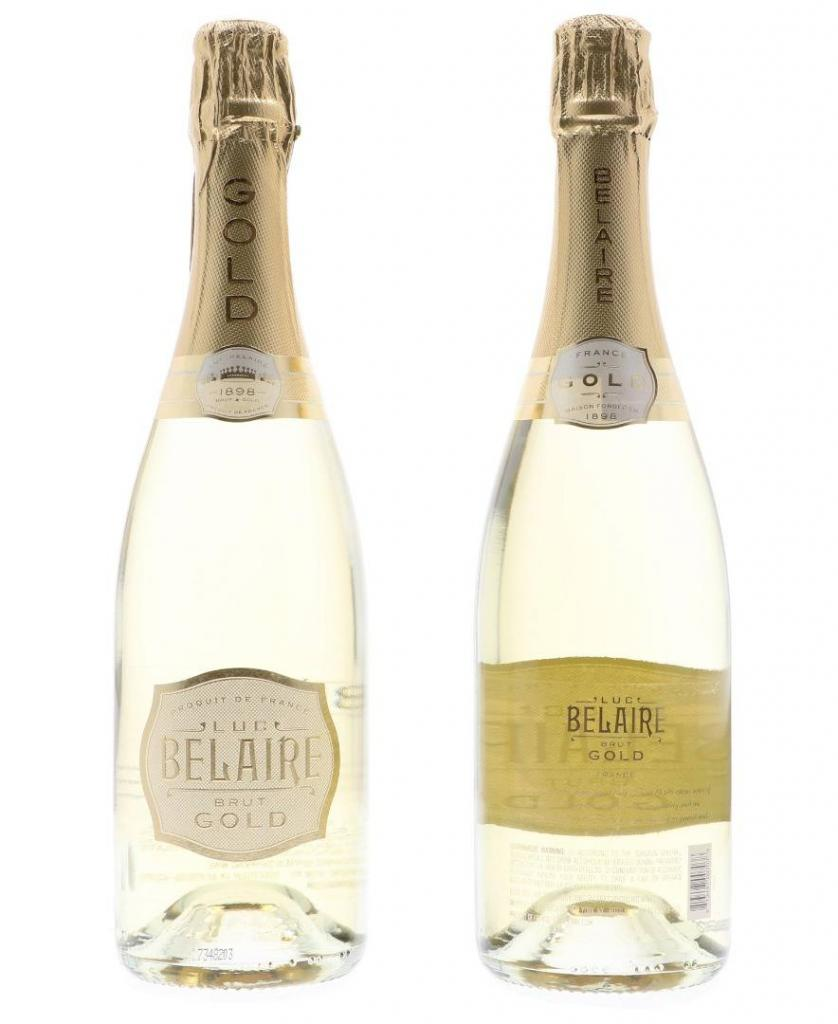 Luc Belaire Gold Brut 75cl 12.5 % vol 16,95€