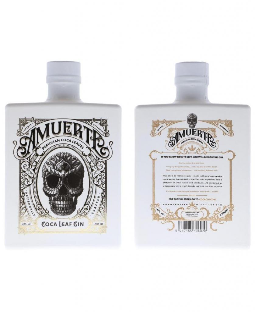 Amuerte Coca Leaf White Edition 70cl 43 % vol 56,80€