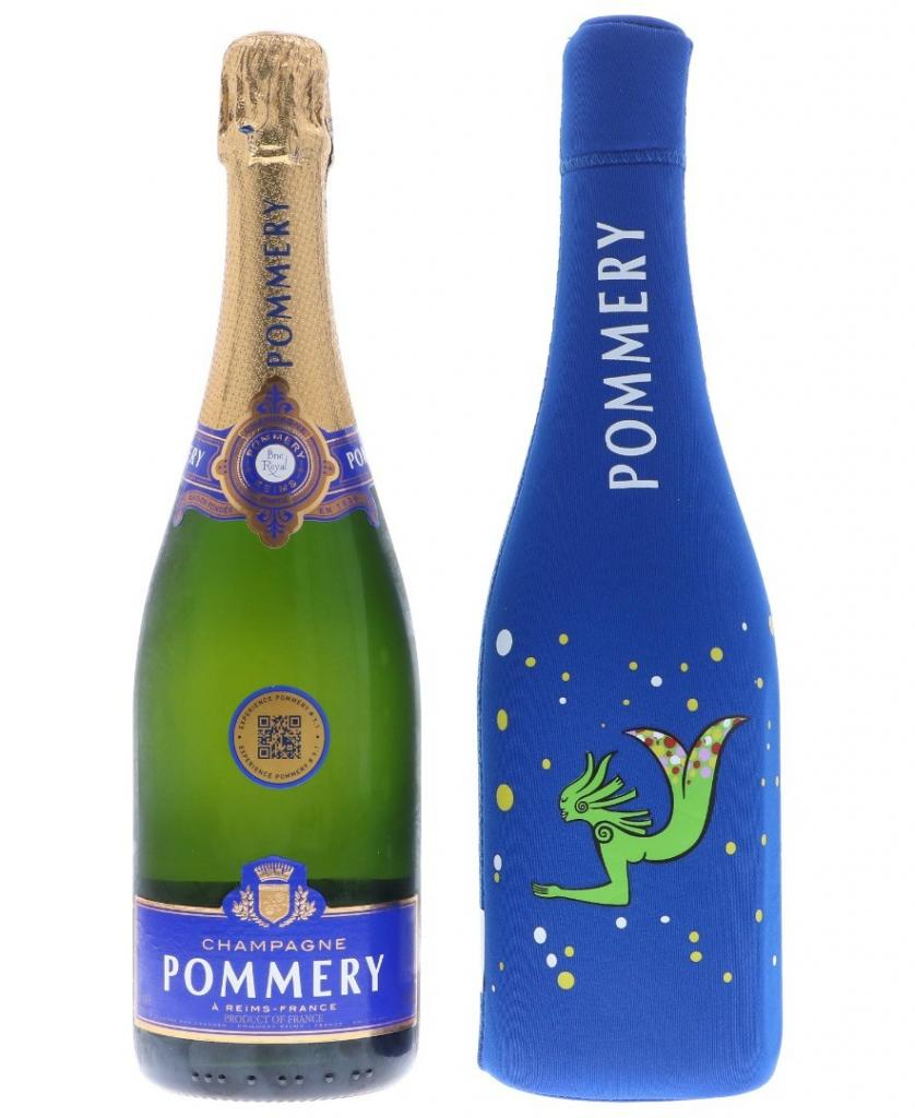 Pommery Brut Royal + Ice Jacket 75cl 12.5 % vol 27,50€