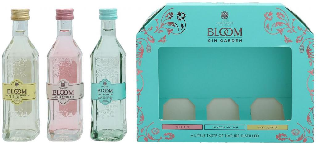 Bloom Mixed Flavours Set 15cl 3*5cl 35 % vol 11,70€