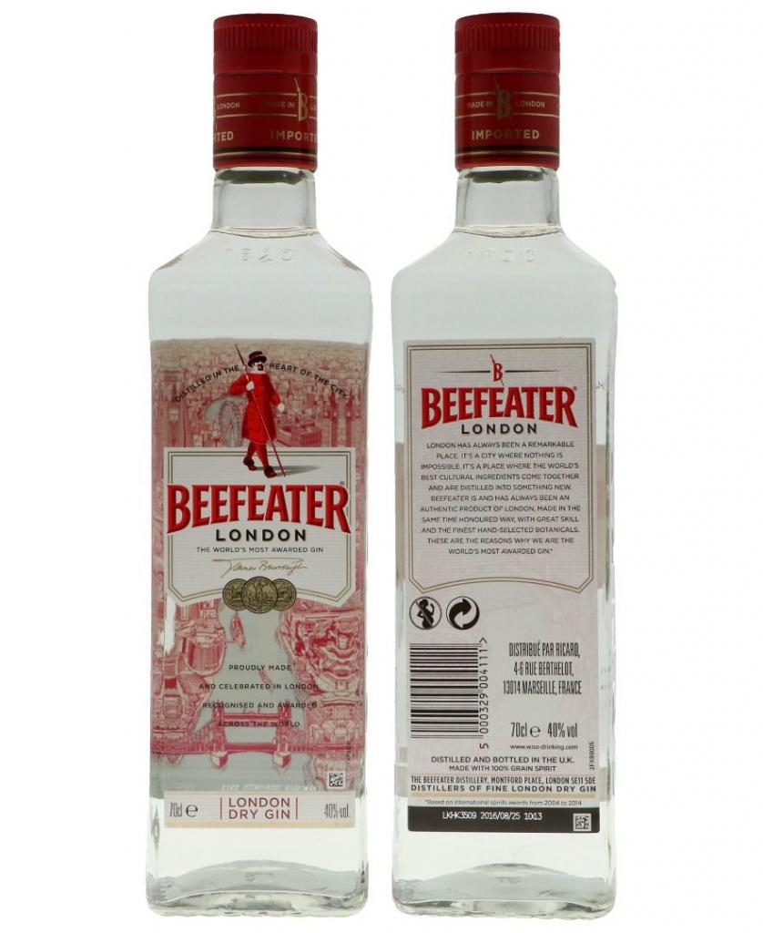 Beefeater 70cl 40 % vol 11,95€