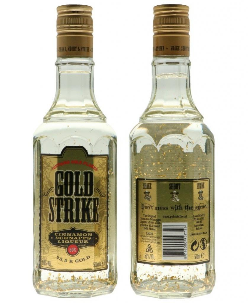 Bols Gold Strike 50cl 50 % vol 10,95€
