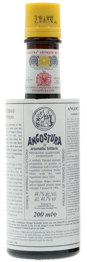 Angostura Aromatic Bitter 20cl 44.7 % vol 11,50€