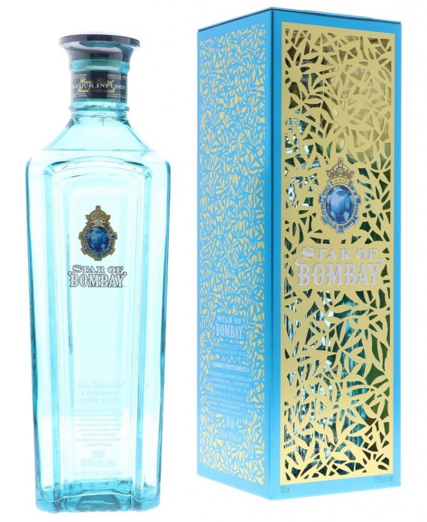 Bombay Star Of Bombay + Gb 70cl 47.5 % vol 29,95€