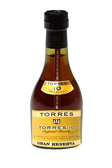 Torres 10 Brandy 5cl 38 % vol 3,40€