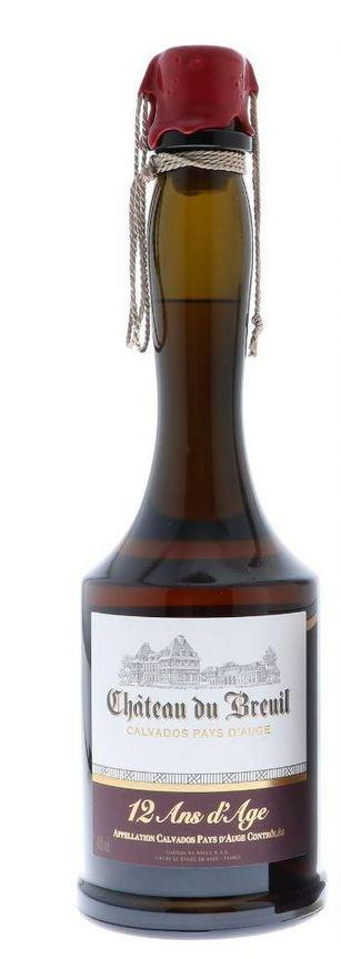 Chateau Du Breuil Calvados 12 Years 70cl 41 % vol 44,50€