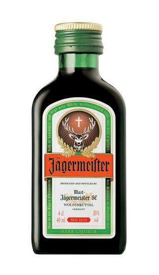 Jägermeister 4cl 35 % vol 1,70€