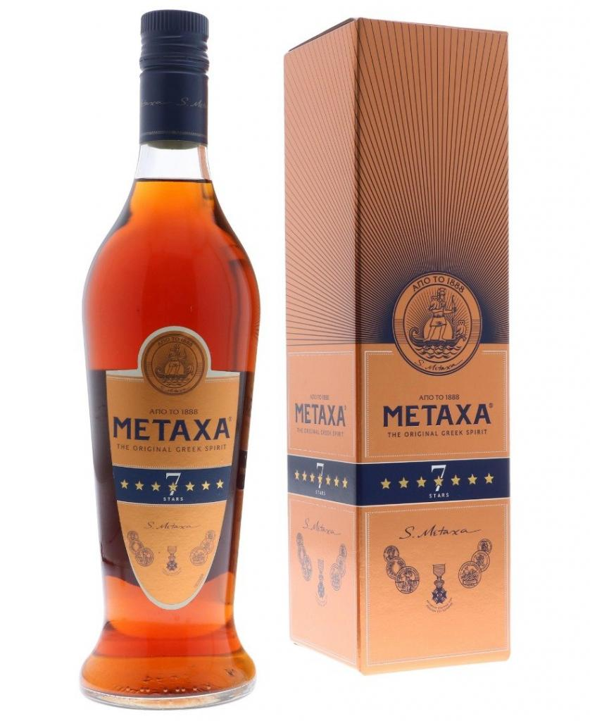 Metaxa 7 Stars 70cl 40 % vol 11,95€